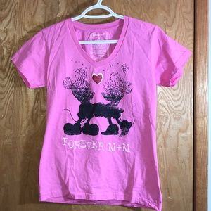 Disney Mickey & Minnie Forever Graphic Tee
